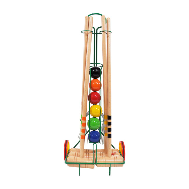 6 Player Croquet Set with Trolley - Sports Gear - 1