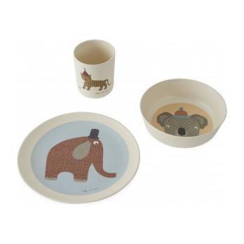 Hathi Bamboo Tableware Set