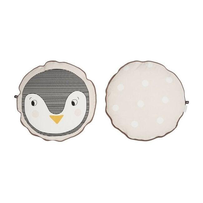 Penguin Cushion, Rose