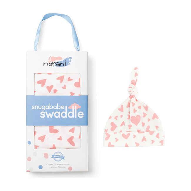 Snugababe Bundle, Pink Hearts