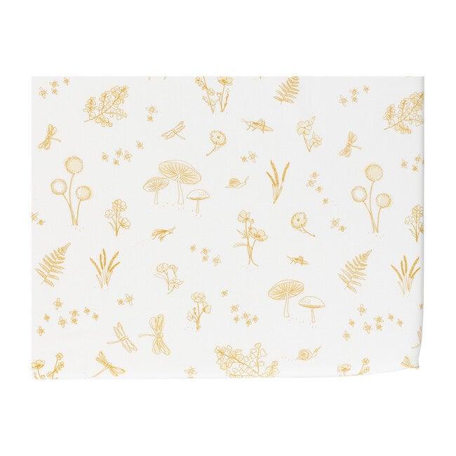 Botanica Crib Sheet, Marigold