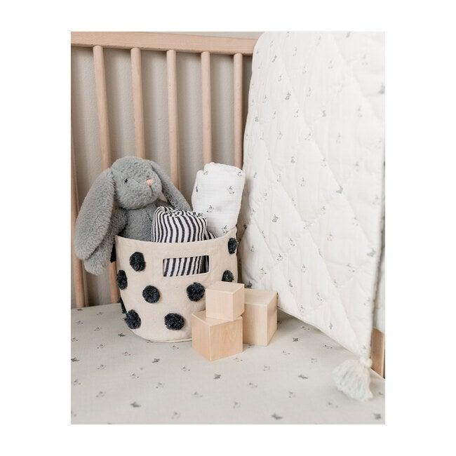 Hatchlings Bunny Nursery Blanket, Blue