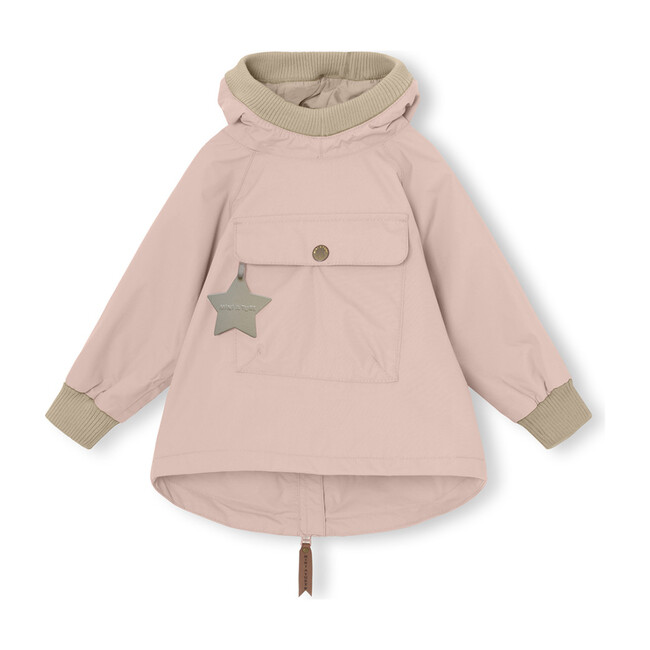 Recycled Baby Vito Anorak, Cloudy Rose