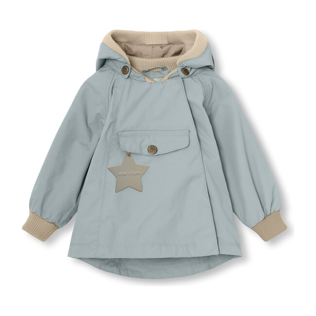 Recycled Wai Jacket, Slate Blue