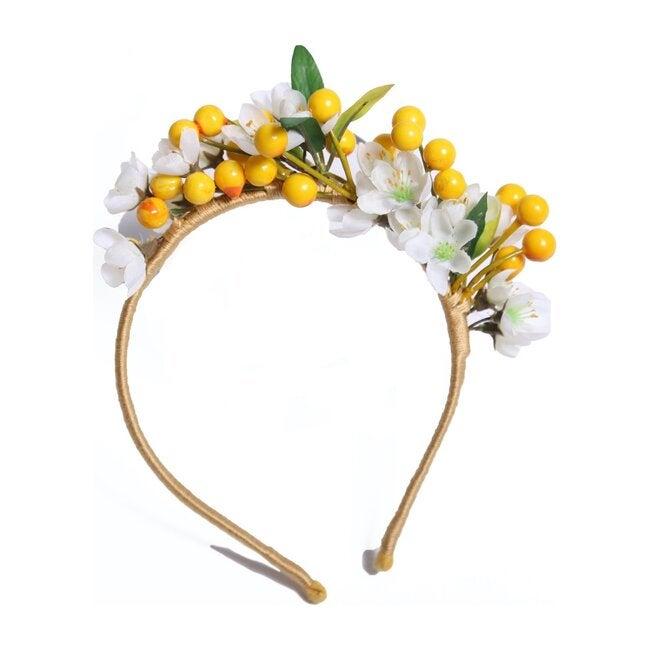 Rosary Pea Floral Headband, Meskel Mix