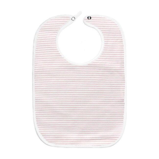 Classic Stripe Bib, Pink