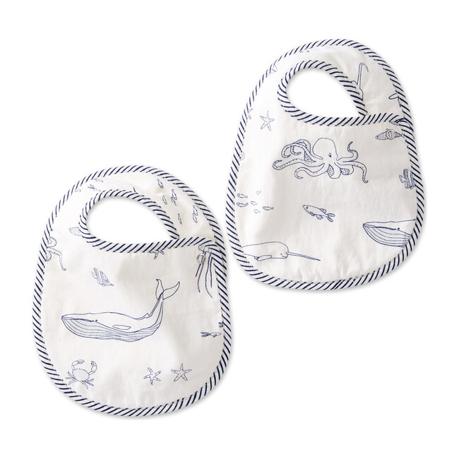 Life Aquatic Bib Set, Marine