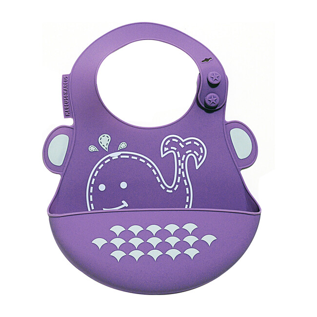 Adjustable Bib, Willo the Whale