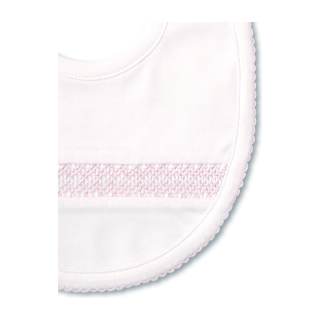 Charmed Bib, White & Pink