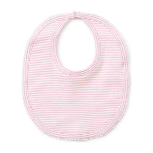 Simple Stripe Bib, Pink