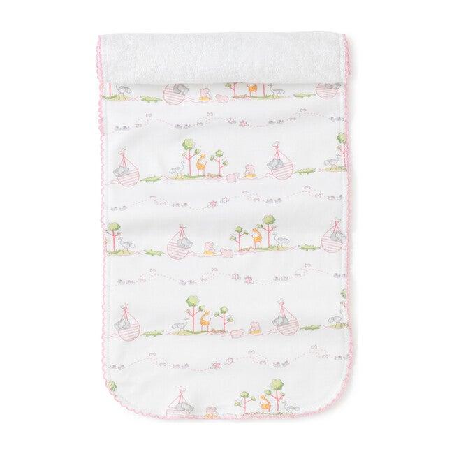 Noah's Burp Cloth, Pink