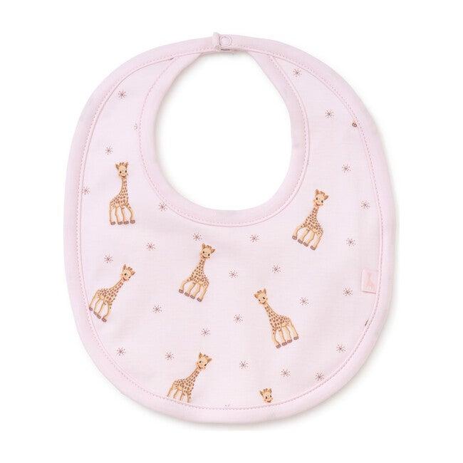 Sophie La Girafe Bib, Pink - Bibs - 0