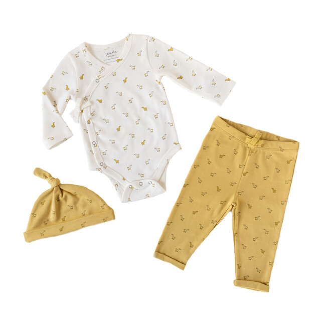 Hatchlings Duck 3pc Set, Marigold