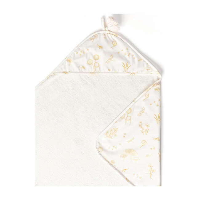 Botanica Hooded Towel, Marigold