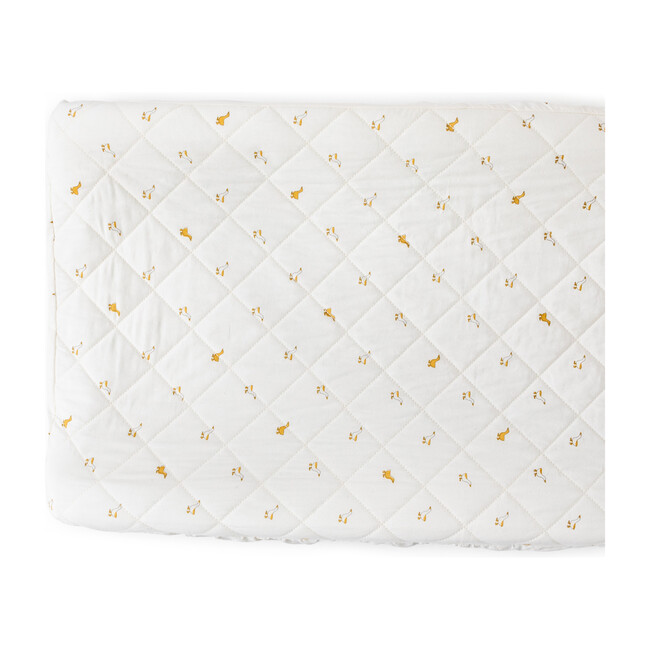 Hatchlings Duck Change Pad Cover, Marigold