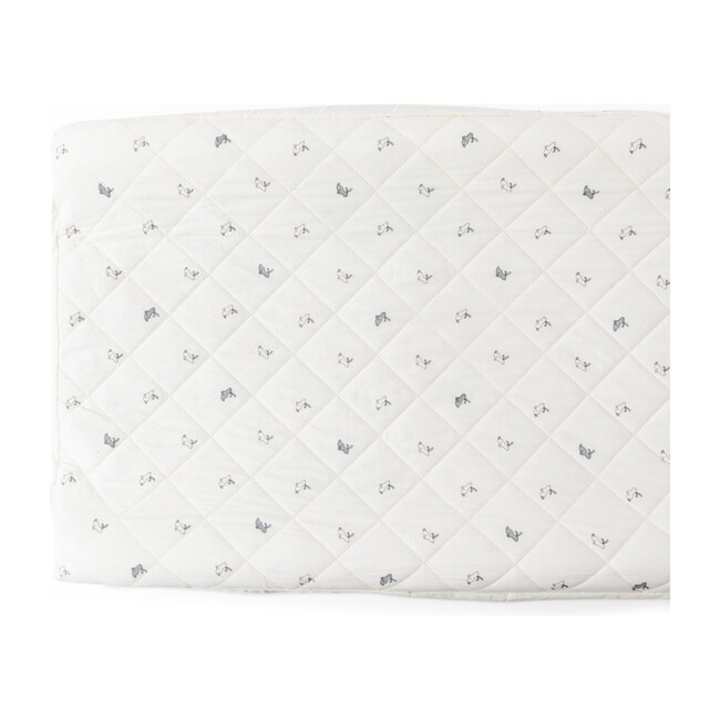Hatchlings Bunny Change Pad Cover, Blue