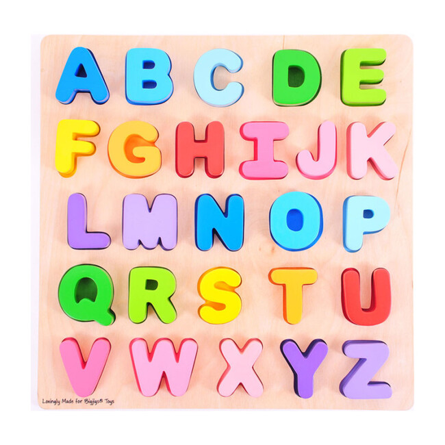 Chunky Alpahabet Puzzle