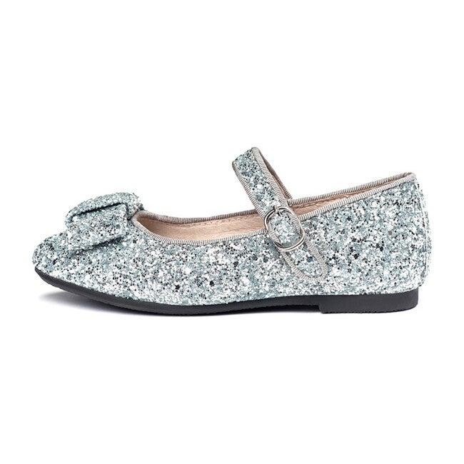 Ellen Glitter Mary Janes, Silver