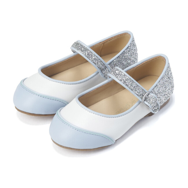 Carrie Glitter Mary Jane, Blue