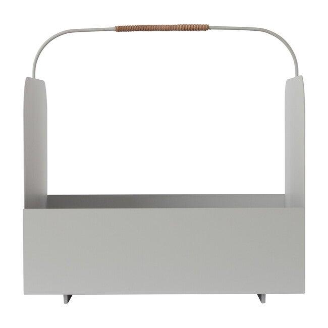 Maki Metal Basket, Light Grey