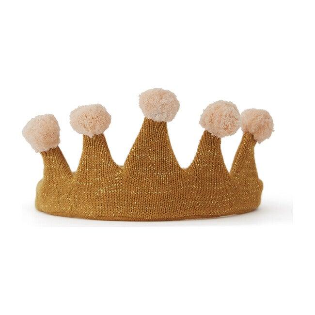 Princess Costume Crown, Camel/Rose