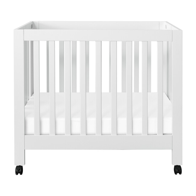 Origami Mini Crib, White