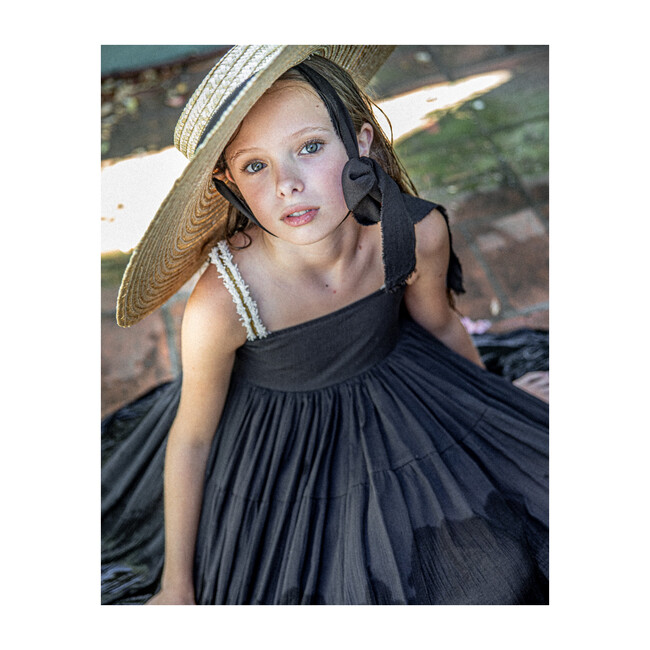 Gala Dress, Black Bambula