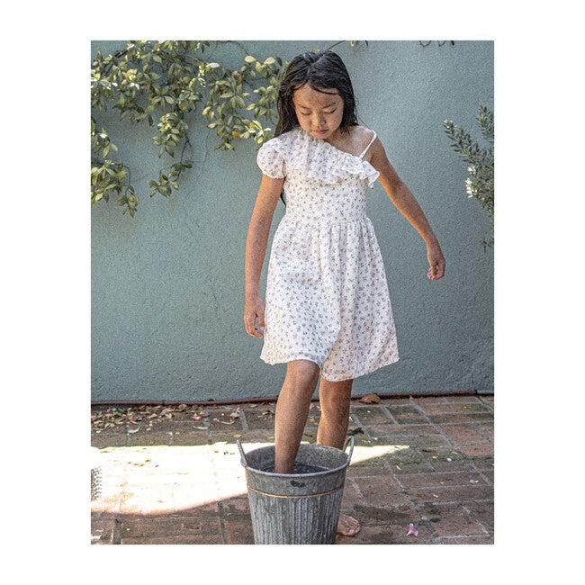 Frida Dress, White Bloom
