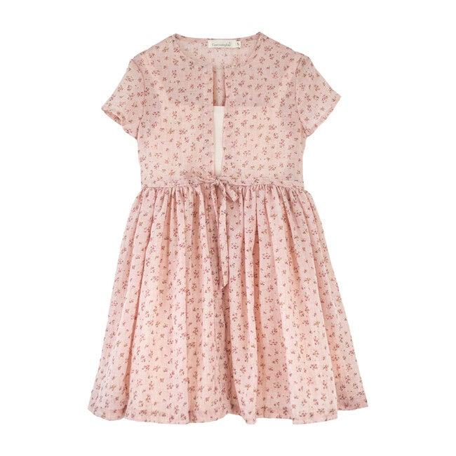 Bora Dress, Pink Bloom