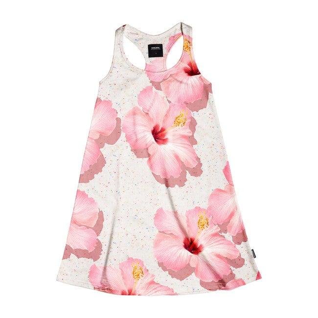 *Exclusive* Pink Hawaii Tank Dress