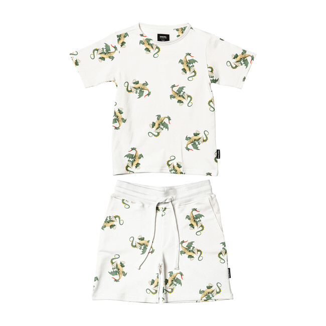 *Exclusive* Dragon T-Shirt/Short Set