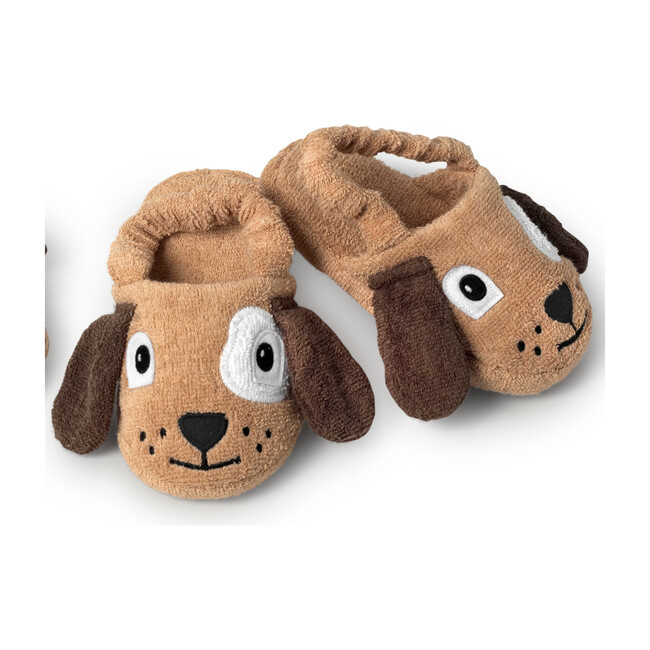 Dog Slippers, Brown