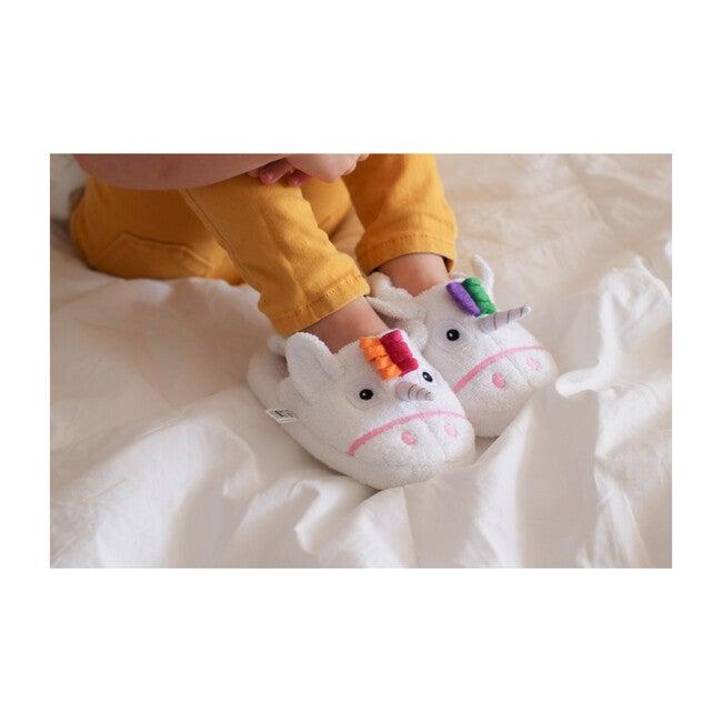 Unicorn Slippers, White