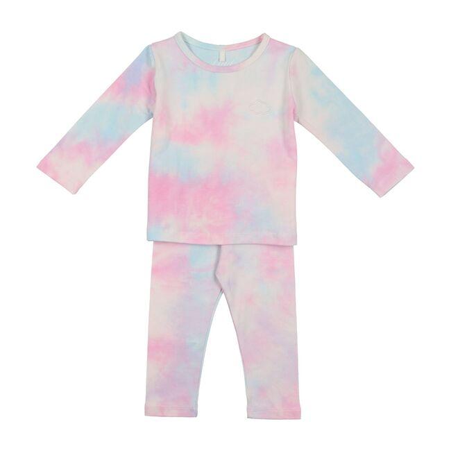Tie Dye PJs, Pink & Blue