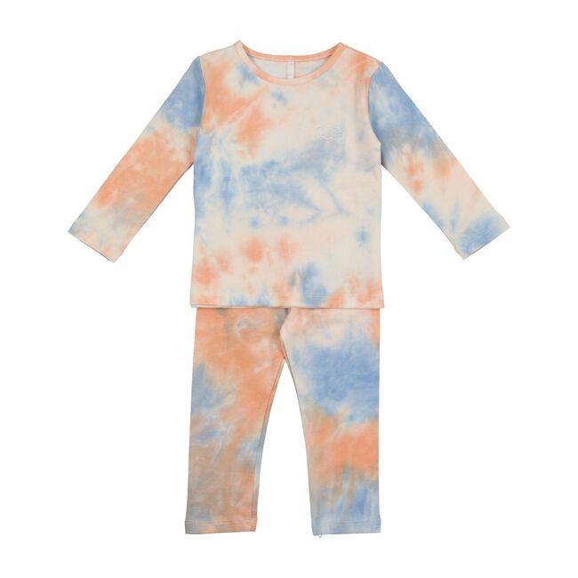 Tie Dye PJs, Blue & Orange
