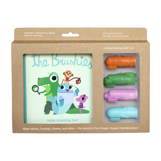 Brushies Full Set with Book
