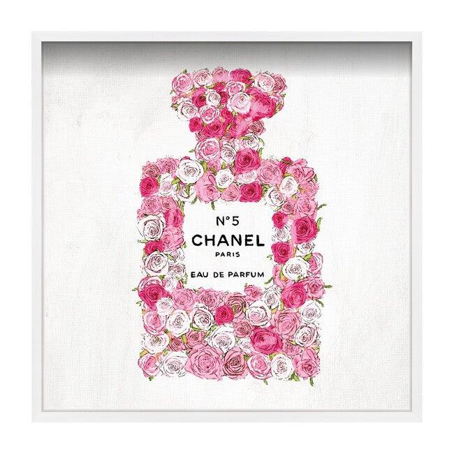 No. 5 Rose Print, Framed