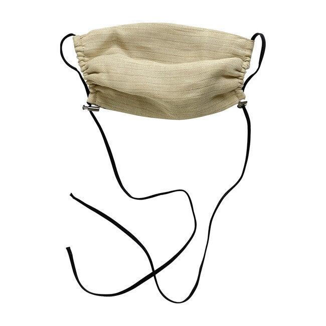 Womens Linen Face Mask, Natural