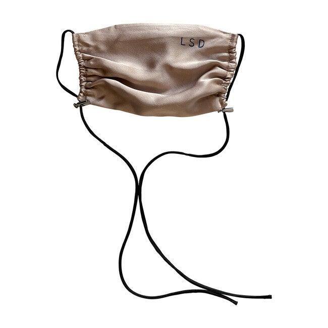 Womens  Silk Face Mask, Dusty Plum