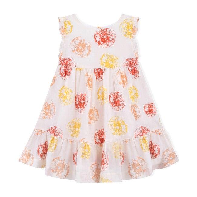 Oranges Dress, Multi & White