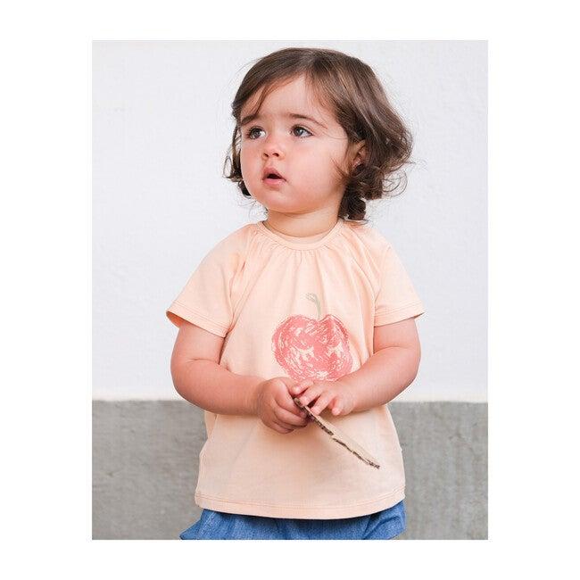A Good Apple Short Sleeve T-Shirt, Orange