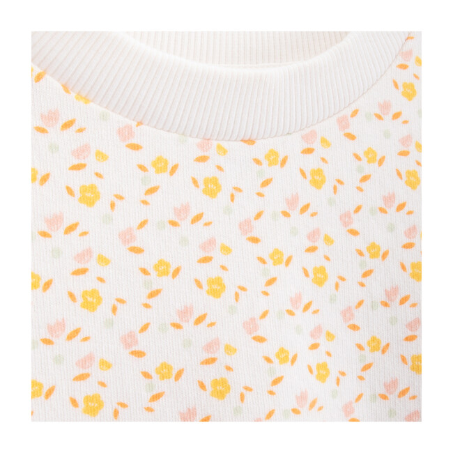 Cathy Sweatshirt, Flowers