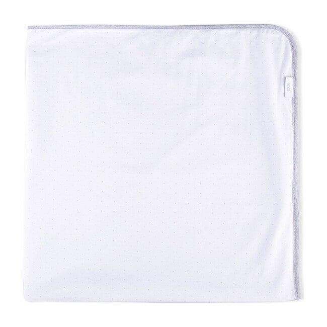 Lacy Organic Cotton Blanket, Grey