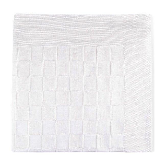 Joy Tricot Blanket, White