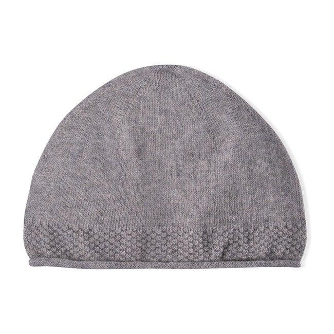 Logan Tricot Hat, Dark Grey