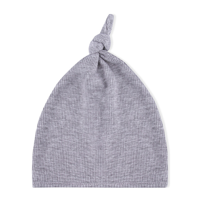 Knot Tricot Hat, Grey