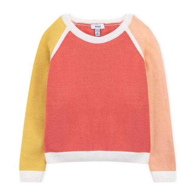 Color Block Sweater, Multicolored