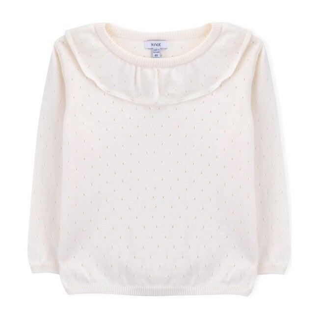 Nicole Sweater, Cream