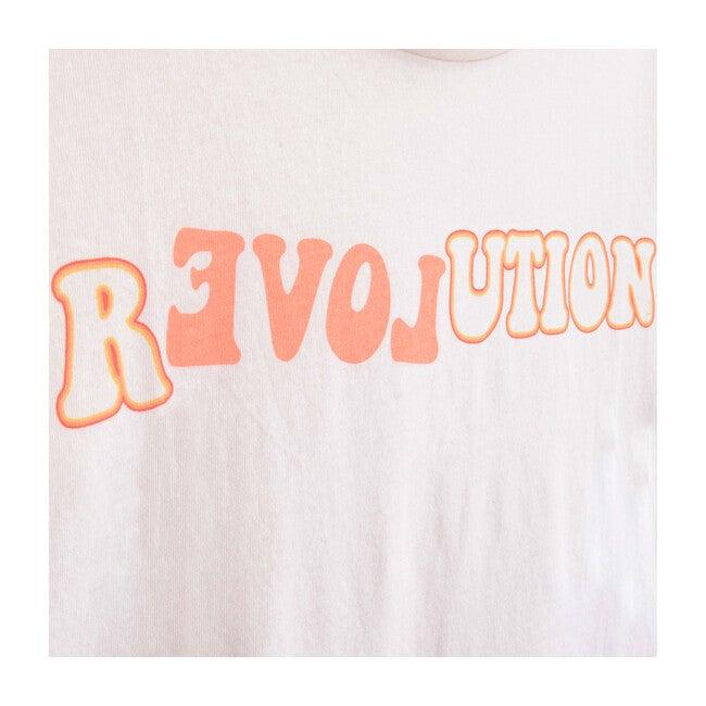 Revolution Short Sleeve T-Shirt, White