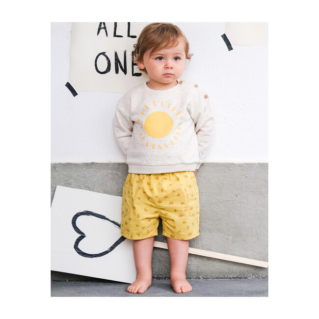 Cargo Shorts, Yellow